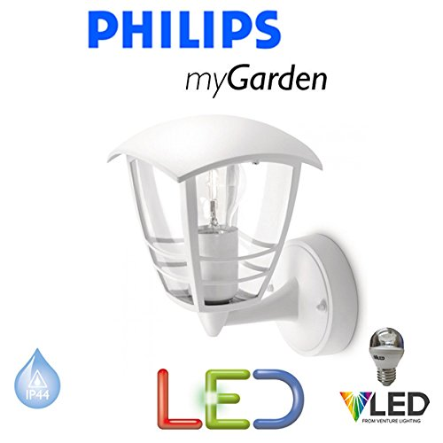 Philips-Massive-Lighting-My-Garden-Creek-LED-59-Watt-wei-Wand-bis-Laterne-Licht-inklusive-LED-Lampe-Auen-Licht-Energiesparend-Modernes-Design-Sts