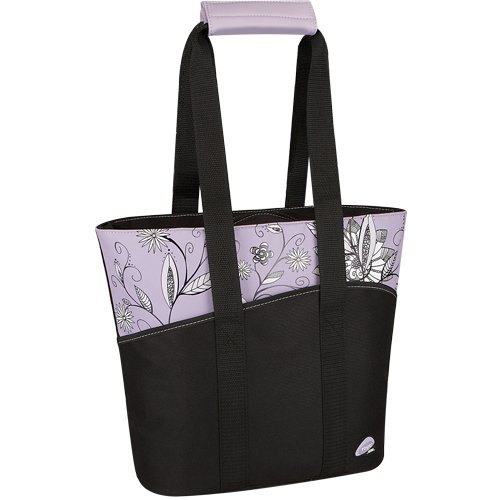 Thermos Raya 18 Can Tote, Purple Flower