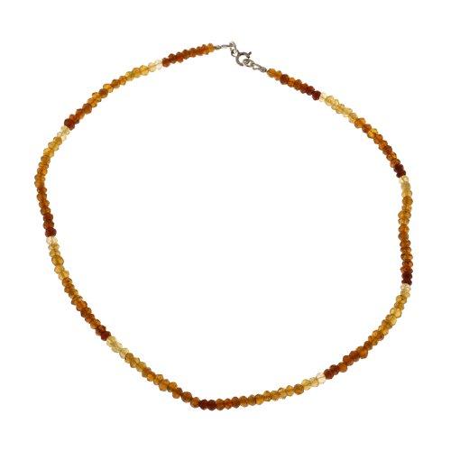 Citrine Gemstone Necklace Healing Jewelry Indian Handmade