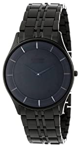 Citizen Men's AR3015-53E Eco-Drive Stiletto Black Ion-Plated Watch