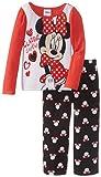 Minnie Mouse Girl's 2-6X Toddler Cozy Cutie Pajama Set