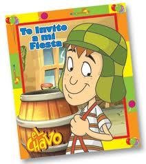 El Chavo del 8 INVITATIONS x12 Party Supplies Favors Kino