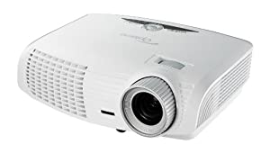 Optoma HD25-LV, HD (1080p), 3000 ANSI Lumens, 3D-Home Theater Projector (White)