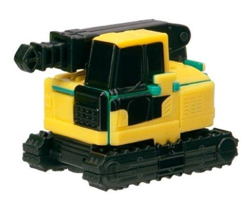 Bandai VooV VM07 Transforming Toy Car [Maeda Seisakusho Crawler Crane (LC1385M-8) ~ Crab Crane (MC-405C)] - 1