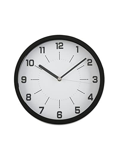 Zings Reloj De Pared Negro
