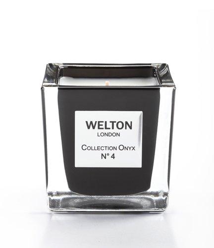 WELTON LONDON ウェルトンロンドン ONYX COLLECTION フレグランスキャンドル 150g NO.4