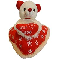 Taringo24h Love On Heart Teddy Bear 10 Inch