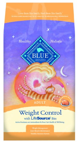 Image of Blue Buffalo Spa Select Weight Control Dry Cat Food, Chicken & Brown Rice Recipe, 3-Pound Bag