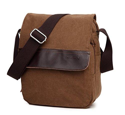 sulandy-mens-womens-distressed-hunter-brown-canvas-leather-cross-body-shoulder-travel-messenger-bag-