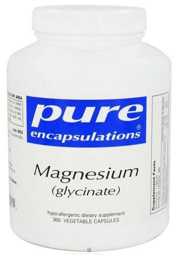 Pure Encapsulations - Magnesium Glycinate - 360 Vegetarian Capsules