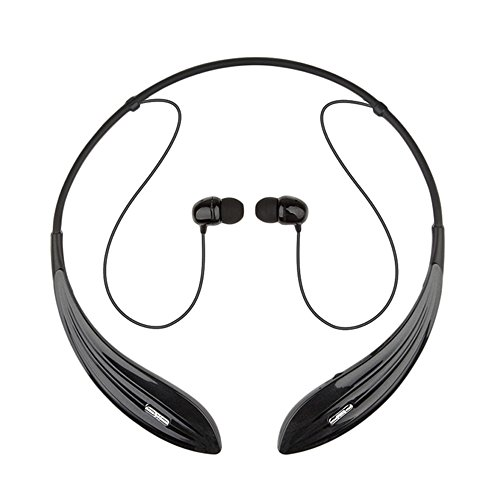 Ecandy Bluetooth Headsets Noise Cancelling Wireless Stereo Sport Headset Headphones for iPhone 6/5s/5c/5/4s/4,Samsung Galaxy S6/S5/S4/S3,LG,Ipad,Ipod, Smartphones and Other Bluetooth Device,Black (Bluetooth Samsung Galaxy S3 compare prices)