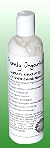 Purely Organics 6-Plus Hair Growth Leave-In Conditioner, 6fl oz
