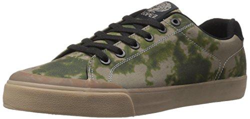 C1RCA Men's AL50R Skateboarding Shoe, Olive/Gum, 10 M US