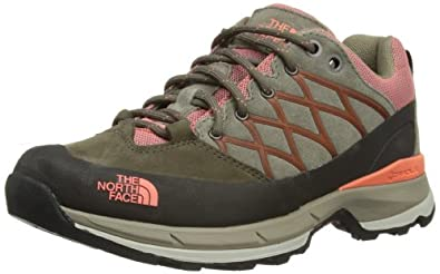 The North Face Womens Wreck W Trekking and Hiking Shoes T0A4WAD7D. 7 Weimaraner Brown/Electro Coral Orange 5 UK, 38 EU, 7 US