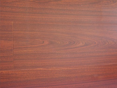 12.3 mm Durique Piano Finish Laminate Diamond Walnut Flooring (6 inch Sample)