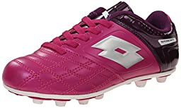 Lotto Stadio Youth Cleat Soccer (Little Kid), Pink/Purple, 1.5 M US Little Kid