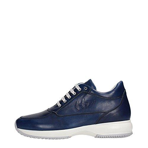 Blu Byblos 662150 Sneakers Uomo Pelle Jeans Jeans 43