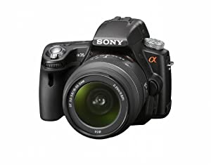 Sony Alpha SLT-a35 16 MP Digital SLR Kit with Translucent Mirror Technology and 18-55mm Lens