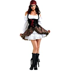 Secret Wishes Buccaneer Babe Costume