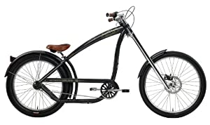Nirve Men's Switchblade 3-Speed Chopper Bike