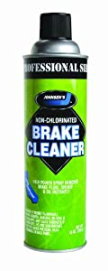 Johnsen's 2417C California VOC Compliant Non-Chlorinated Brake Parts Cleaner - 13 oz.