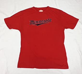 MLB Minnesota Twins Retro Character Design T-Shirt By Red Jacket by Red Jacket