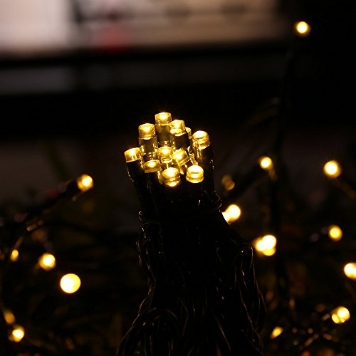 Ledertek Christmas Solar String Lights 72ft 200 Led Fairy