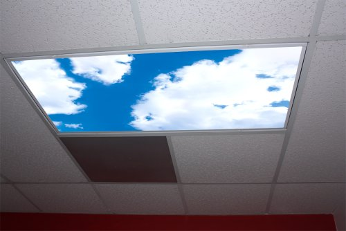 Cumulus I Skypanels; Fluorescent Light Diffuser
