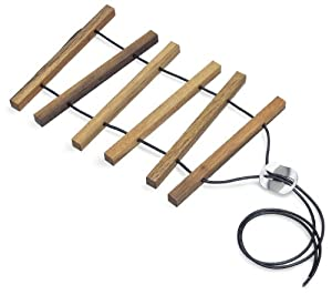 carl mertens 5207 6001 log expandable trivet. Black Bedroom Furniture Sets. Home Design Ideas