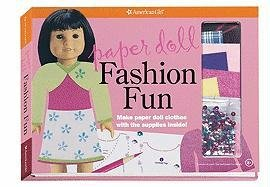 Paper Doll Fashion Fun: Make Paper Doll Clothes With the Supplies Inside! (American Girl)