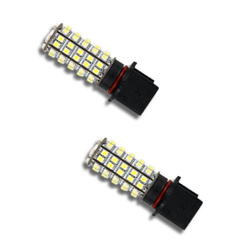 Pair Super White P13W 68-Smd Led Headlight Bulbs For Driving Fog Light