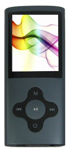 Sylvania SMPK4083 4 GB Video MP3 Player with Full Color Screen (Graphite)