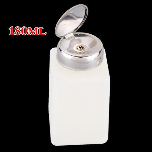SODIAL(R) Flacon Pompe Distributeur De Dissolvant Nettoyant 180ml
