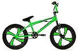 KS Cycling Jungen Fahrrad BMX Freestyler Cobalt, Grün, 20,...