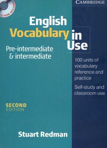 English Vocabulary In Use Pre Intermediate And Intermediate Book And
