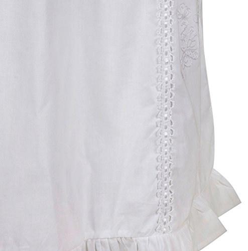 The 1 for U Nancy 100% Cotton Victorian Sleeveless Nightgown 7 Sizes 6