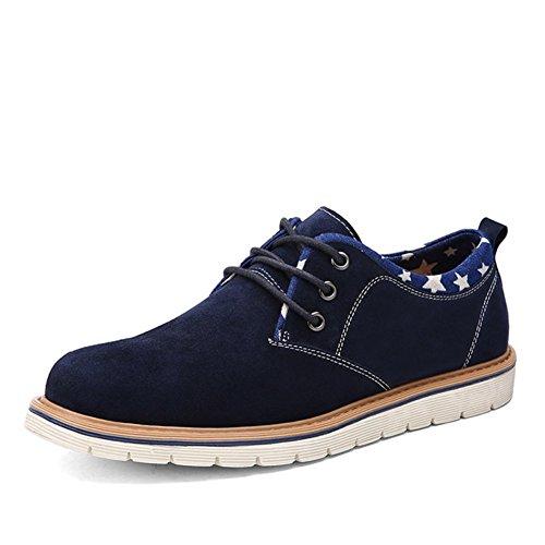 Chaussures en daim cuir hommes/version coréenne de chaussures basses/Les étudiants en dentelle chaussures de sport