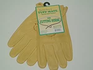 Tuff Mate Soft Leather Work Gloves- Size Small