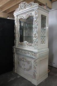 barock vitrine schrank gebraucht rokoko louisxv avi02 k che haushalt. Black Bedroom Furniture Sets. Home Design Ideas