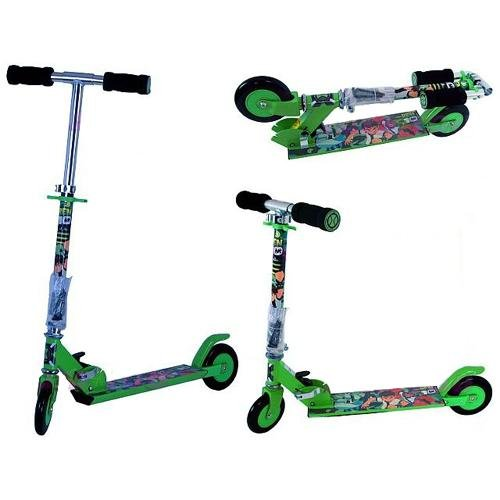 Ben 10 Folding Scooter & Projector Torch