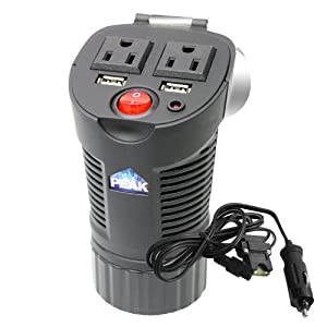Peak PKC0BM 150 Watt Cup/Can Power Inverter