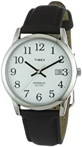 Timex Mens Classic Watch with Black Leather Strap - T2H281