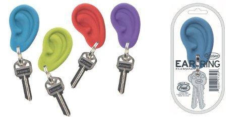 Ear Rings Keychains -Purple - 1