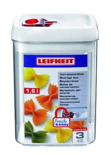Leifheit 31211 Vorratsbehälter Fresh & Easy 1.6 Liter eckig