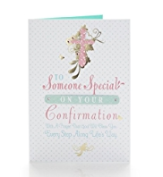 Special Girl Confirmation Card