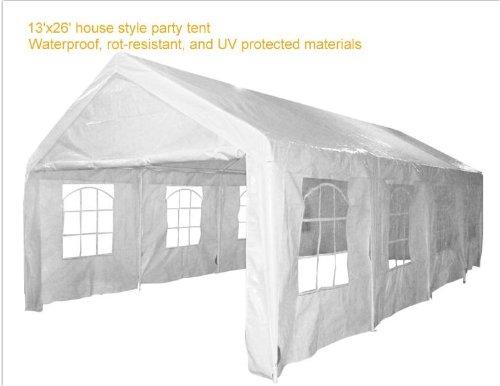 26x13' Party Wedding Tent Carport Garage Canopy