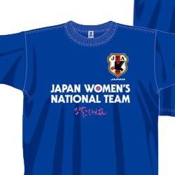 Jリーグエンタープライズ なでしこじゃぱん Tシャツ ブルー