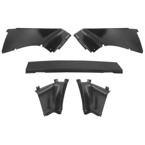 New Ford Mustang Rear Interior Trim Panels   Fastback, 5pc Set 67 68