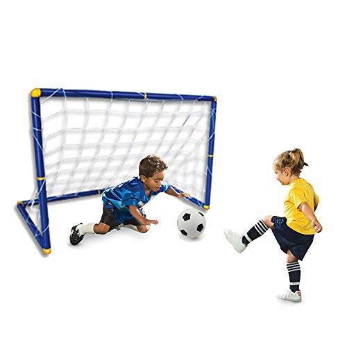 [Hot Selling Portable Folding Children Kid Goal Football Door Set Football Gate Outdoor Indoor Toy Sports] (Little Boy Football Player Costume)
