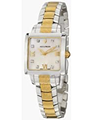 Accutron Masella Collection 8-diamond Mother-Of-Pearl Sapphire Crystals Ladies Watch - Accutron 28P105